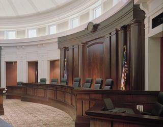 Supreme Courtroom