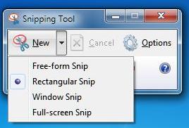 snip windows xp