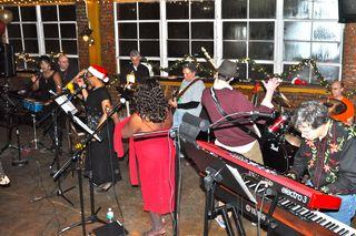 Band at xmas