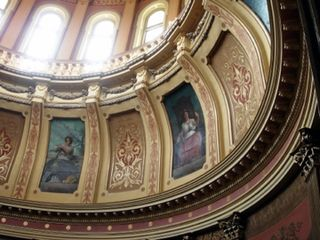 Michigan_State_Capitol_Muses