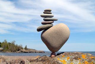 Balanced-rocks